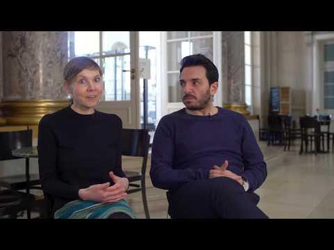 Fragen an Sarah Albrecht und Derviş Hızarcı nach ihrer Residency