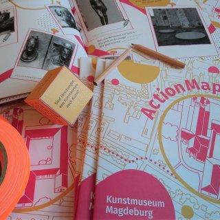 Eine ActionMap für das Kunstmuseum Magdeburg – ©  Magdalena Burkhardt