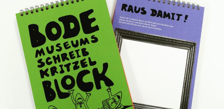 Jetzt neu: didaktisches Material zur kreativen Erkundung des Bode-Museums –
