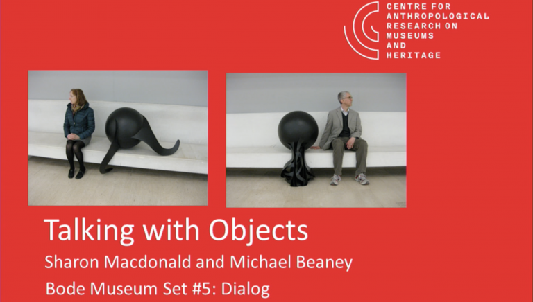 """Talking with Objects"": Videorückblick –"