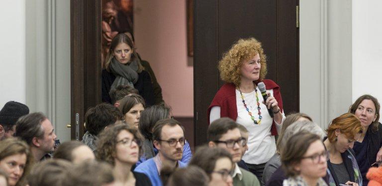 Open Access – Open End. Partizipative Ausstellungskonzepte im Kunstmuseum – © SMB / Ute Klein, 2018