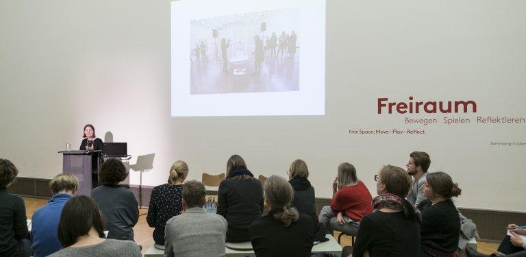 Zwischen Vermittlung und Reflexion – Die Abteilung Dramaturgie der Kunsthalle Wien – © SMB / Ute Klein, 2019